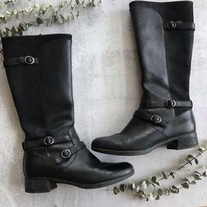 DANSKO Lorna Tall Riding Boot Black 39